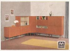 Prospekt M Detus Möbel 50er Jahre Design Mid Century Vintage Kayser Münster !(D5