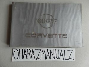 1984 Chevy Corvette Owner Owner's Owners Manual