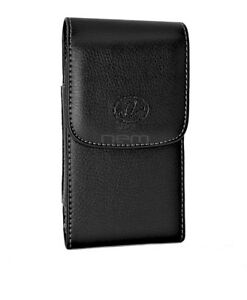 Vertical Leather Case for BlackBerry Z10 FITS WITH OTTERBOX DEFENDER CASE ON IT