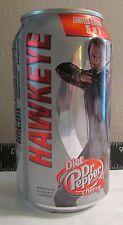 Limited Diet Dr. Pepper Cherry Avengers Hawkeye empty aluminum soda pop can