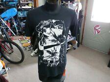 """Nike Runs This"" Dri-Fit palm tree shirt black size Small polyester blend #14617"