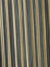 SHINY PLEATED PLISSE SATIN FABRIC - Black/Gold - BY THE YARD BRIDAL SKIRT DECOR