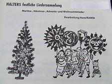 Halters festliche Liedersammlung (Hans Kolditz)    Posaune 3 in B (Violinschl.)
