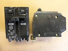 GE THQB THQB21100 2 pole 120v/240v 100 amp circuit breaker