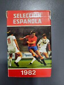 Baraja de 32 cartas Heraclio Fournier seleccion española de futbol año 1982