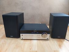 Sony CMT-SBT100 Home Audio System - Black Bluetooth CD Radio but missing antenna