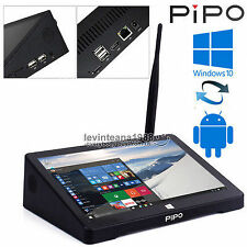 "7"" Inch IPS PIPO X8 Window 10 Android Mini Pc Dual OS TV BOX Intel Tablet PC"