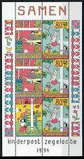 NEDERLAND 1994 / KINDERZEGELS BLOK / NVPH 1627 POSTFRIS MNH ***