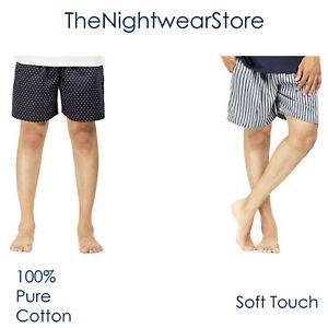 ⭐Mens Shorts Mens Boxers Mens Nightwear Mens Loungewear 100% Cotton S to XXL⭐
