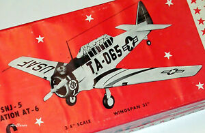 Scale Plans: Berkeley/Sig North American AT-6/SNJ Texan (1952)