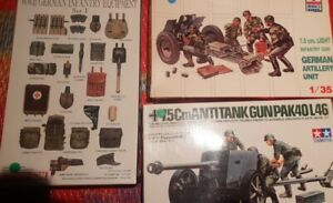 Mixed Lot Of 1/35 German Artillery And Equipment