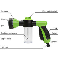 US 1x Car Washing Clean Foam Water Gun Pipe Washer Spray Gun Home Cleaning
