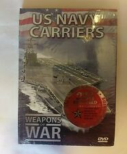 U.S. Navy Carriers - Weapons of War DVD and Book - NEW SEALED