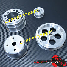 Lightweight Underdrive Pulley Set For Mazda RX7 93-95 FD3S RX-7 1.3L 13B Rotary