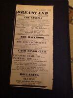 H2-1 Ephemera 1969 Dreamland Margate Advert The Scrugs Carry On Up The Khyber