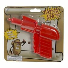 Toyi Tater Shot Potato Bullet Gun Orange Just Add A Potato