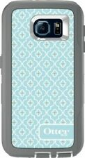 OTTERBOX Defender Case Samsung Galaxy S6 Smart Phone Cover Tough Armor Grey/blue