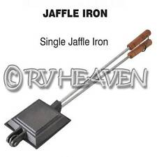 Supex SINGLE JAFFLE IRON Pre-Seasoned Cast Iron Cookware Caravan Camper Trailers