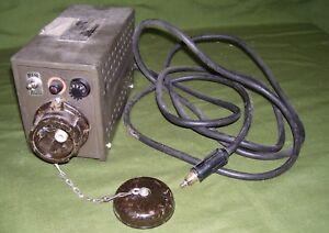 Inverter ELKON type 100/24/220 -surplus militare Tedesco-