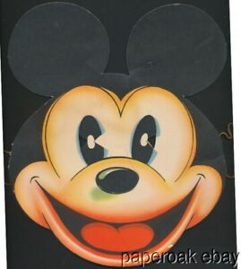 ca1936 Walt Disney Enterprises Mickey Mouse Paper Mask