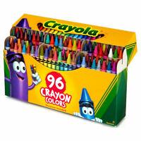 Crayola Wax Crayons - Pack of 96 crayons - includes Sharpener