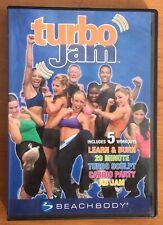 Turbo Jam 5 Rockin' Workouts 2 Disc 2005 Fitness DVD Beachbody Chalene Johnson