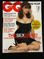 2005 FEBRUARY GQ UK MAGAZINE - RACHEL WEISZ, Abi Titmuss, Nancy Dell'Olio