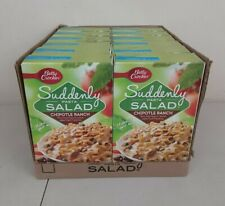 New listing Suddenly Pasta Salad Chipotle Ranch Betty Crocker 12 Boxes - Best by 6/02/21