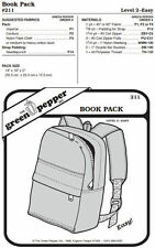 Book Bag Back Pack #211 Sewing Pattern (Pattern Only) gp211