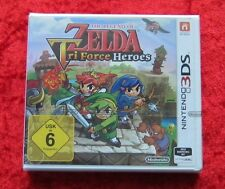 The Legend of Zelda Tri Force Heroes NINTENDO 3 DS Jeu Neuf, Version Allemande