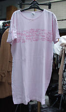 Tesco Truly, Madly, Dippy Enchanting Girls Teenager Lady Pink Night-Shirt /Dress