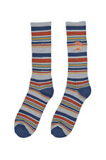 Vans 2x Men's Multicolor Stripe Socks 2 Paia Calze Calzini Uomo EU 42 5-47