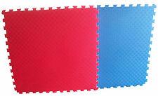 Sportmatte Steckmatte rot-blau 1,02x1,02x0,02 m Karate Kampfsport Taekwondo NEU