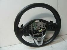 MAZDA 6 STEERING WHEEL LEATHER, GJ, 11/12-06/16 12 13 14 15 16