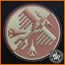 34TH EXPEDITIONARY BOMB SQUADRON THUNDERBIRDS DEPLOYMENT PVC PATCH B-1 BONE USAF