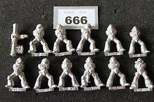 Warhammer 40k Space Marines Tactique Marines corps métallique torse Job Lot armée Bits