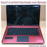 "HP dv6-3104sa 15.6"" Laptop Intel i3 1st-Gn 2.4Ghz 4GB RAM For Spares and Repairs"