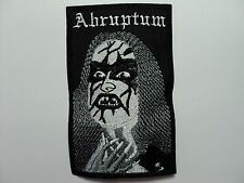 ABRUPTUM EMBROIDERED PATCH