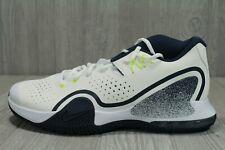 62 NikeCourt Tech Challenge 20 Tennis Shoes White Navy Mens Size 12 BQ0234-103