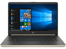 Hp 14inch 128 GB SSD 12GB RAM Notebook - Gold