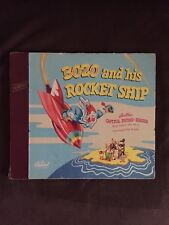 Bozo & His Rocket Ship Capital Records Vinyl 2 record albums 1947 70 years old