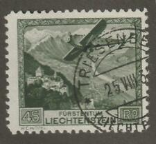 Liechtenstein 1930 C5 Air Post Stamp- Used
