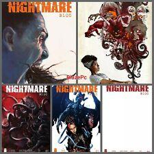 Nita Hawes Nightmare Blog #1 Cover A B C D E Variant Set Options Presale 10/20