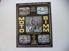 advertising Pubblicità 1971 MOTO BIMM CROSS P/4 50/BILLO/EZ M/ P/3 T