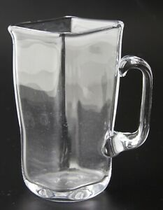 Simon Pearse Woodbury glass creamer with handle