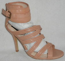 New! HEARTSOUL HEART SOUL DEVINA BLUSH HIGH HEEL SANDALS 10 M