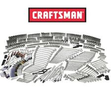 Craftsman 540 piece Mechanics Tool Set 84T Ratcheting Wrench Deep Socket SAE MM