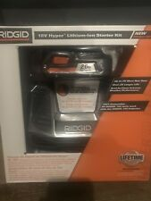 RIDGID AC848695 18V Hyper Lithium-Ion Starter Kit w/ Battery and Charger - NEW !