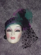 CLAY ART CERAMIC MASK....CONTEMPO.....EXTREMELY RARE !!