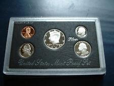 1992-S San Francisco US 90% Silver, Nickel, Copper Proof Set w/ Ultra Cameos